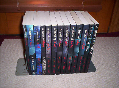 NICE Lot of 13  Bella Forrest SC Books---A SHADE OF KIEV 1 & 2--SHADE OF VAMPIRE