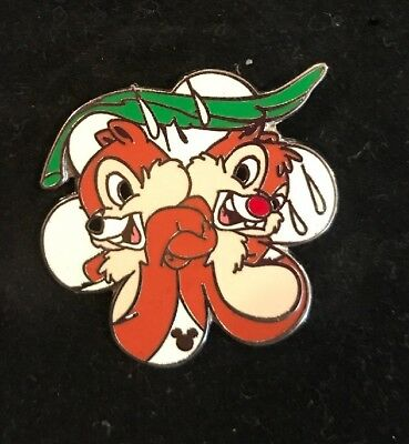 WDW Hidden Mickey 2007 Series 2 Chip Dale Spring Rain Disney Pin 59020