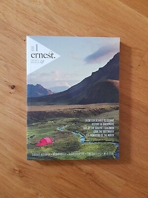 LAST ONE! ERNEST JOURNAL #1 RARE Out of Print ADVENTURE MAGAZINE Mint Cond.