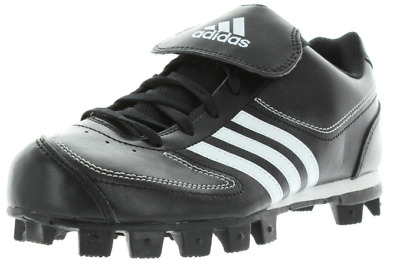 Adidas Tater 3 Size 4 M Medium (Y) Youth Kids Baseball Cleat Black White G07046