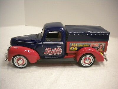 1940 Ford - Pepsi  Cola Pick-Up Truck Diecast