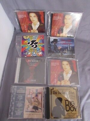 Michael Jackson Mixed Lot of 8 Used CD's  #2
