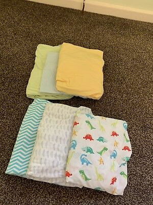 Baby Cot Fitted Sheets