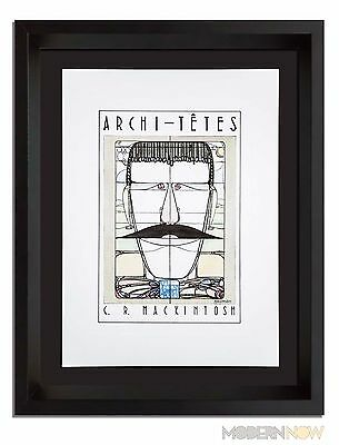 C.R. MACKINTOSH ORIGINAL Lithograph by Louis Hellman *Signed +++Custom FRAMING