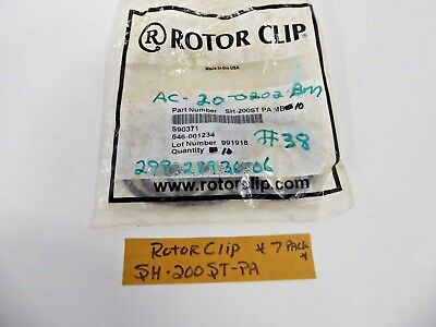 Rotor Clip SH-200ST-PA Retaining Ring Snap Ring (Pack of 7)