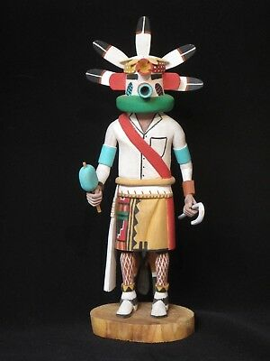 Hopi Corn Kachina by Polacca - 11 inches