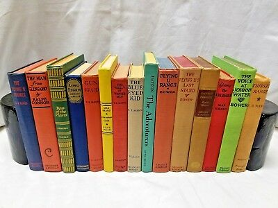 *6 Vintage Books* Old/Authentic/Antique/Decorative/Decor~Free Book w/EA Add on!!