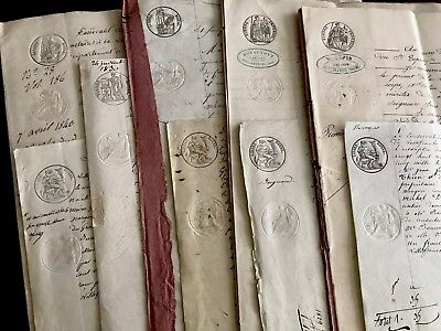 BIG LOT of Old Historical Documents