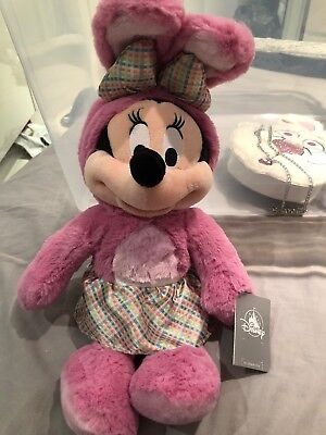 Easter Minnie Mouse Plush With Tags