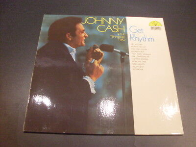 Johnny Cash & The Tennessee Two: Get Rythm (Schallplatte / LP / Bellaphon 1969)