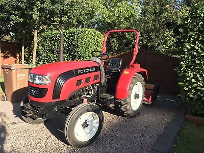 Foton 250 Compact Tractor Flail Mower Chain Harrows Roller And Link Box Sirmoer