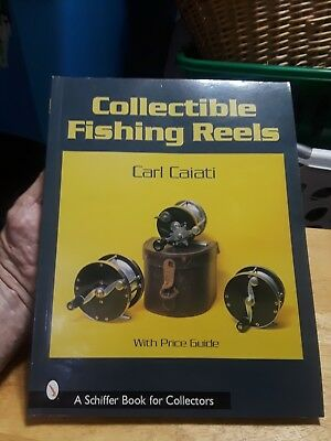 NEW - Collectible Fishing Reels Schiffer Book for Collectors~Free Shipping SALE!