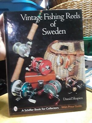 Vintage Fishing Reels of Sweden Schiffer Book for Collectors Free Shipping SALE!