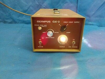 Olympus CLK-3 Cold Light Supply Light Source, Medical, Healthcare, Endoscopy