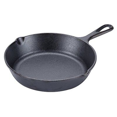 Lodge 8 Inch Cast Iron Skillet. Small Pre-Seasoned Skillet for Stovetop, Oven