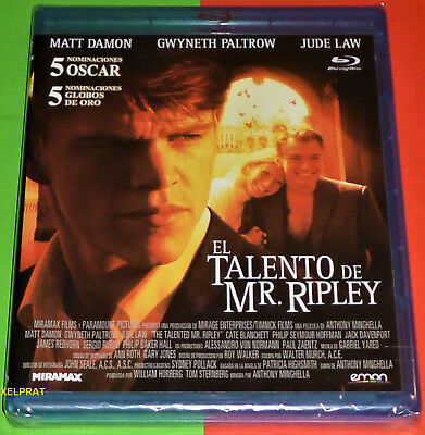 EL TALENTO DE MR RIPLEY / THE TALENTED MR RIPLEY Bluray area B -English Español