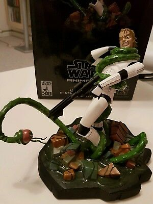 Luke Skywalker as Stormtrooper Figur Statue Gentle Giant Star Wars Animated OVP