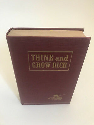 Think and Grow Rich 1st edition Napoleon Hill