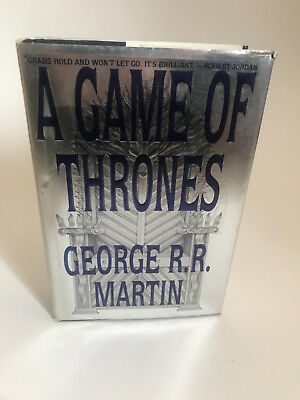 A Game of Thrones 1st edition George Martin signed