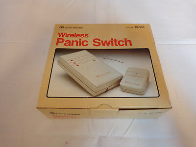 Radio Shack Tandy Wireless Panic Switch Emergency Alarm Mount Remote NIB 49 536