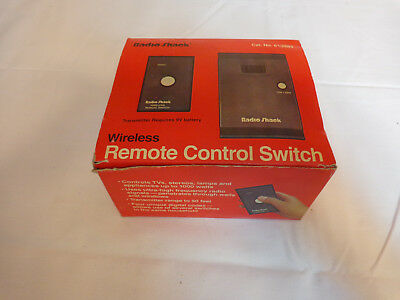 Radio Shack Wireless Remote Control Switch NIB 61 2665