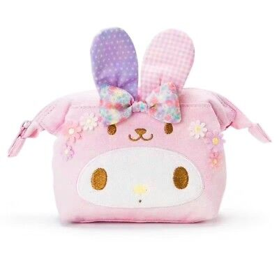 NWT Sanrio My Melody Cosmetic Make Up Bag Pouch Japan ~ US SHIP (LIMITED)
