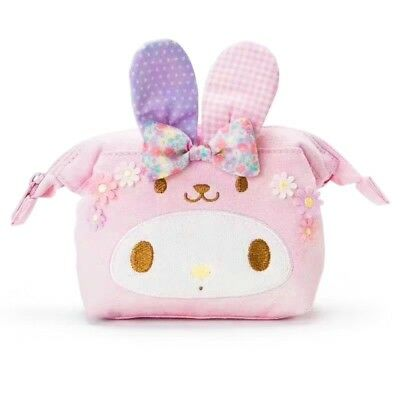 ~ NWT Sanrio My Melody Cosmetic Make Up Bag Pouch Japan ~ US SHIP (LIMITED)