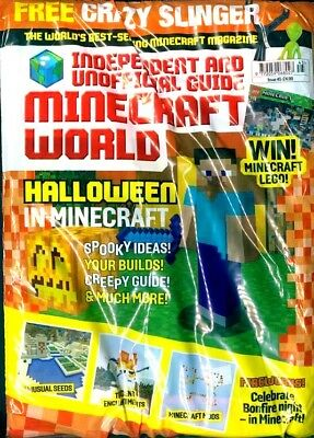 Minecraft World Magazine Issue #45 ~ New Sealed Pack ~