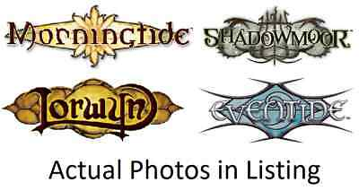 MTG Magic the Gathering Eventide, Shadowmoor, Morningtide, Lorwyn Mix Multi List