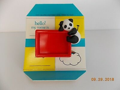 "Avon Children's Accessories MESSAGE BEAR-ER PIN 2"" x 2"" NOS NIB"