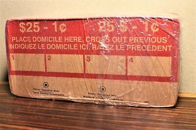 2012 canada penny roll FULL UNOPENED RCM BOX UNCIRCULADED 50 rolls