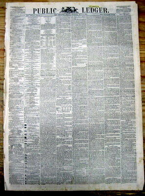 1874 newspaper California outlaw TIBURCIO VASQUEZ IS CAPTURED near LOS ANGELES