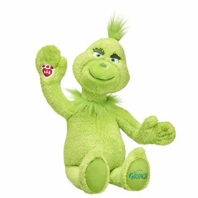 New GRINCH Plush Stuffed The Grinch Who Stole Christmas Build a Bear SHIPS FAST