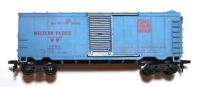 Vintage HO Scale Varney Western Pacific WP Boxcar Freight Car Model Railroad