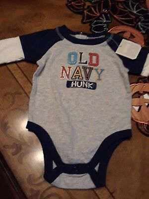 NWT Infant Boys Size 3-6 months  one pc Shirt Old Navy