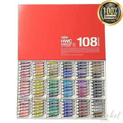Holbein Artists Transparent Watercolor 108 Colors Set W422 5ml No.2 JAPAN F/S