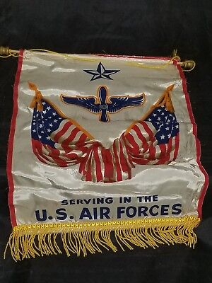 WWII Homefront USAAF Support Banner