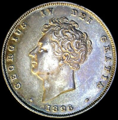 Great Britain 1826, 6 Pence KM# 698 {Silver}