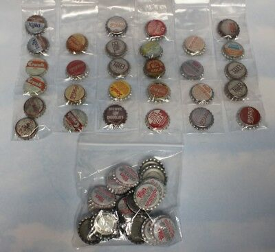 Lot of 58 Bottle Caps ~ Several Different Kinds ~ RC Fanta Tab Coke Squirt Cork