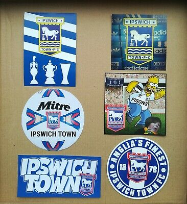 Ipswich Town Away day sticker set Ultra Stickers Pack of 35 casual/ultra