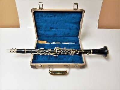 Vintage Buffet Crampon Wooden Clarinet 1959 With Hard Shell Case Ready To Play