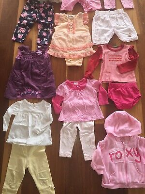 Girls Size 0 Clothing Bundle Incl Fred Bare, Roxy, Jack & Milly Etc