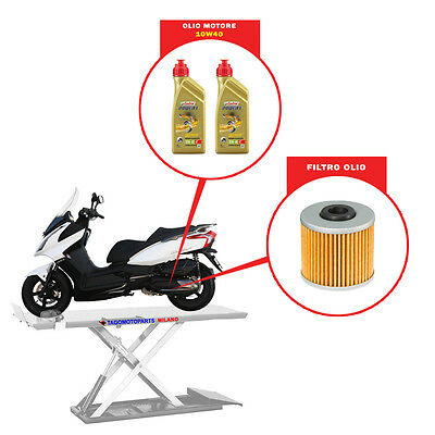 Set Mantenimiento [Cambio Aceite] - Kymco Downtown 300 (2009-2015)