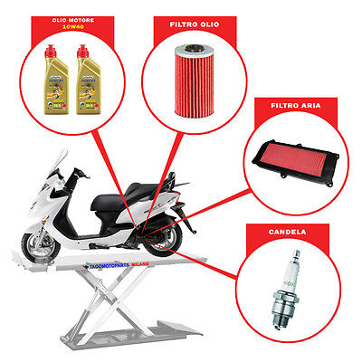 Set Mantenimiento [Motor] - Kymco Grand Dink 125 (2001-2007)