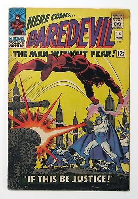 DAREDEVIL #14 1966, Marvel, See Pix for Quality, by Stan Lee