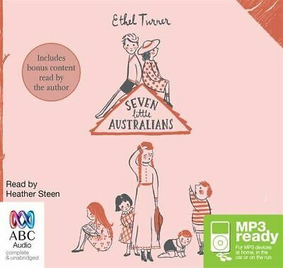 NEW Seven Little Australians By Ethel Turner CD in MP3 Format Free Shipping