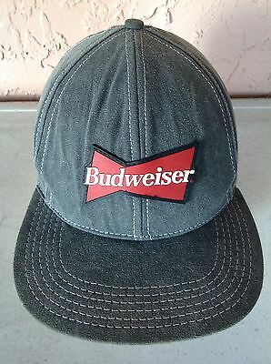 Awesome Vintage Budweiser King Of Beers Rubber Logo Hat