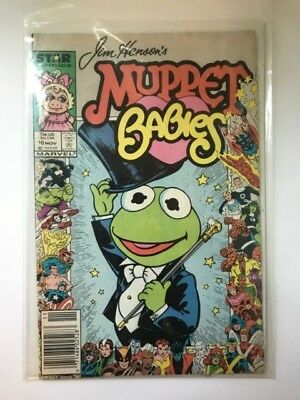 Muppet Babies #10 Newsstand (Jim Henson) Star Marvel