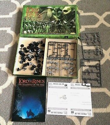 The Lord of the Rings Games Workshop Set 2001 Strategy Warhammer Fantasy