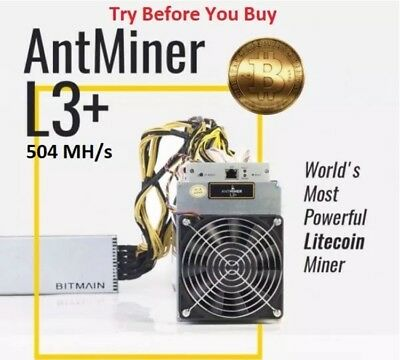 🔥OVERCLOCKED L3+ (604 MH/s) 24 Hour Mining Contract plus 6 FREE hours!!!🔥